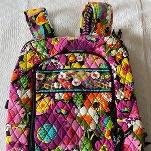 NWOT Vera Bradley Laptop Bookbag